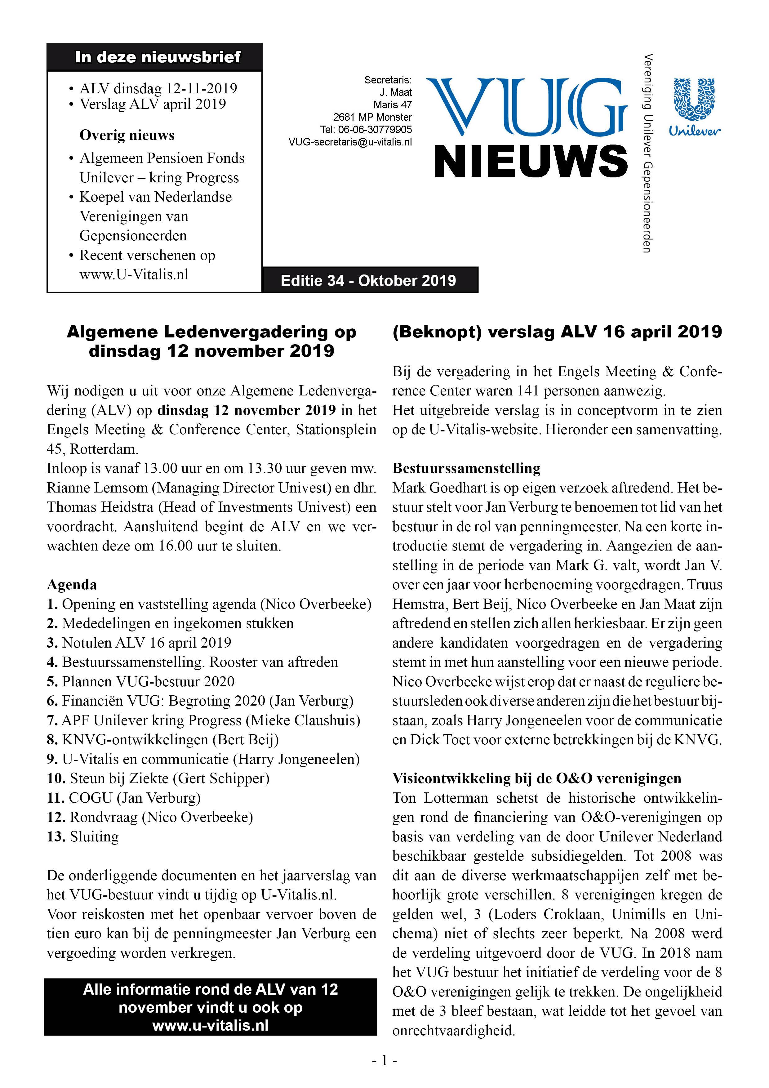 VUG 34 pagina 1