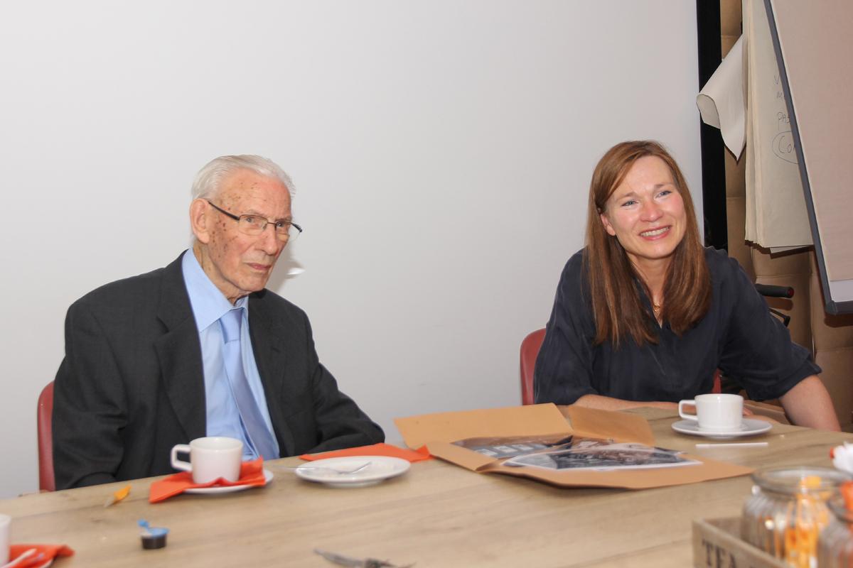 Hedda Renooij bezocht de heer Van der Velden in Oss.