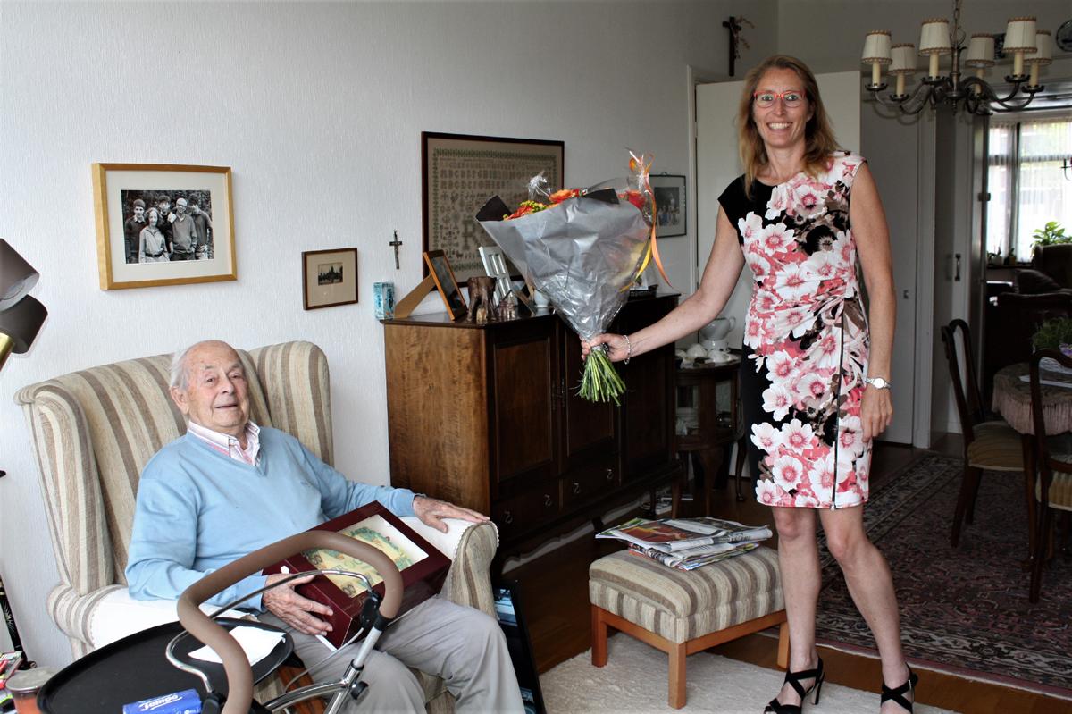 Jeannelle Kooman bezoekt de heer en mevrouw Segers